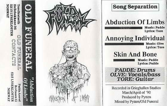 Old Funeral - Discography (1989 - 2013)
