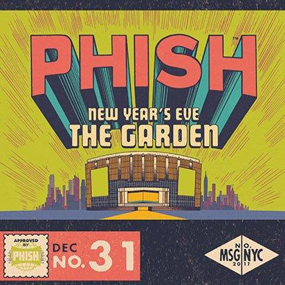 Phish  - Madison Square Garden (NY-2017-12-31) (3CD)