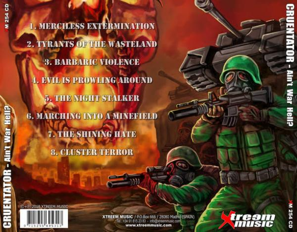 Cruentator - Ain't War Hell? (First Digipak Edition)