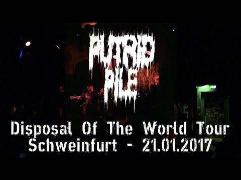 Putrid Pile - Live at Disposal The World Tour