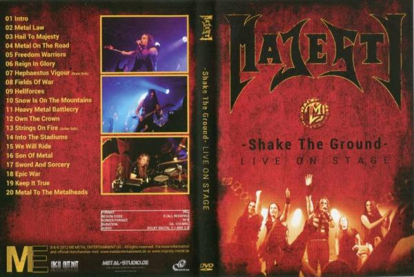 Majesty - Shake The Ground - Live On Stage (DVDRip)