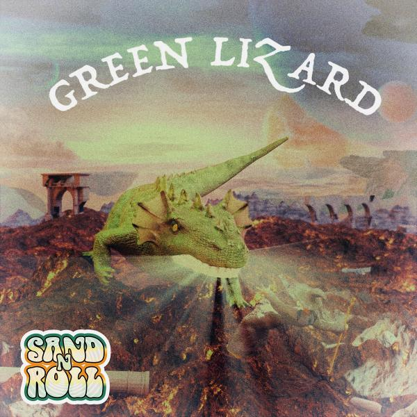 Sand'n'Roll - Green Lizard