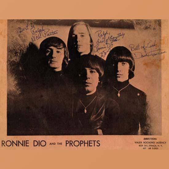 Ronnie Dio And The Prophets - Ronnie Dio And The Prophets