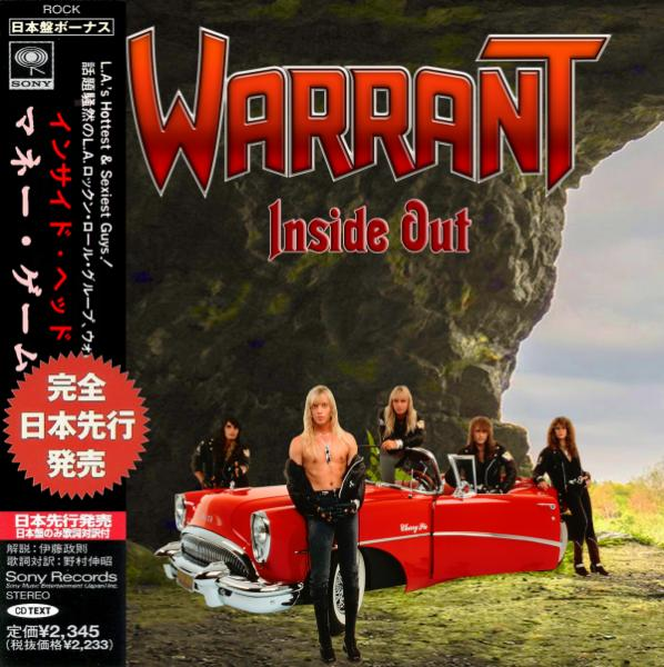 Warrant - Inside Out (Compilation) (Japanese Edition)