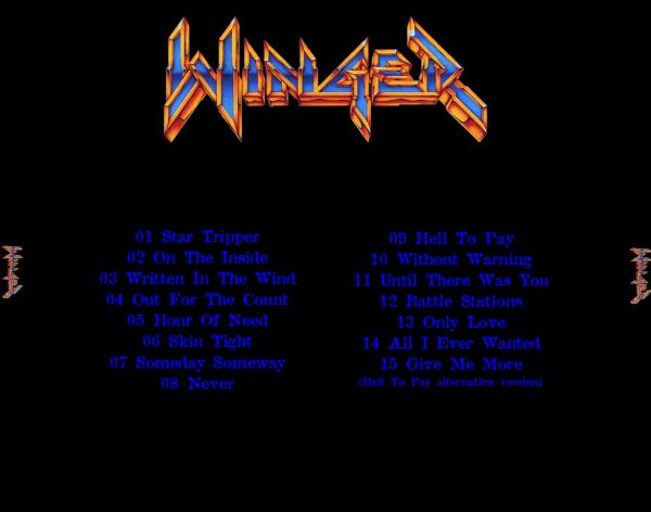 Winger - Rare Tracks