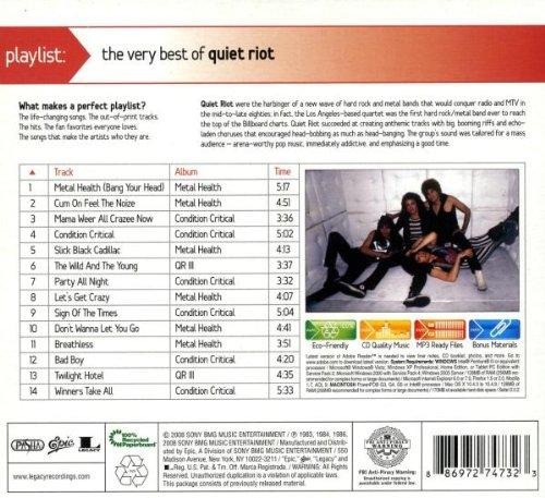 Quiet Riot - The Very Best Of Quiet Riot (Lossless)