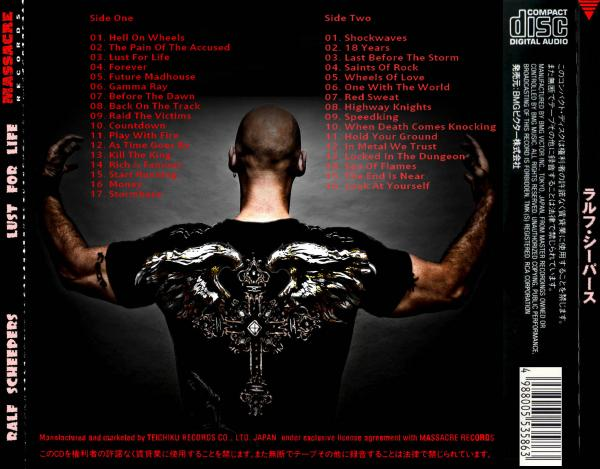 Ralf Scheepers - (Primal Fear) Lust For Life (Compilation)