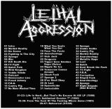Lethal Aggression -   Collection (1985-1990)