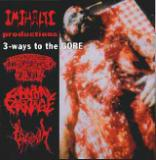 Disgorged Foetus, Carnival of Carnage, Vivisection  - Split