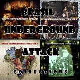 Various Artists - Brasil Underground Attack Collections (2012-2016 / 4CD's)