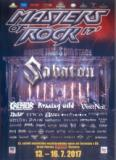 Various Artists - Masters of Rock 2017 2 x DVD9