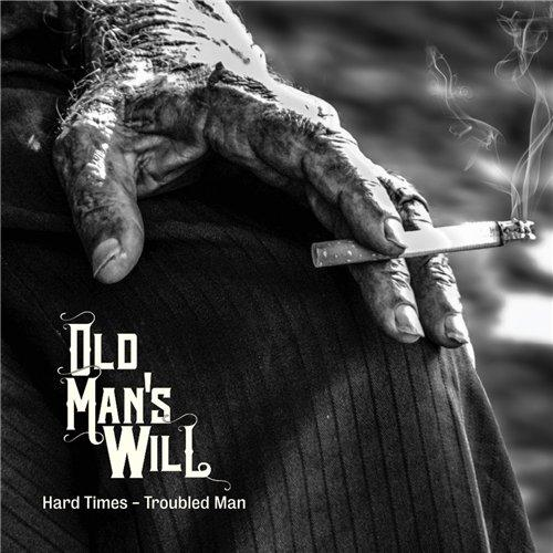 Old man with hard on