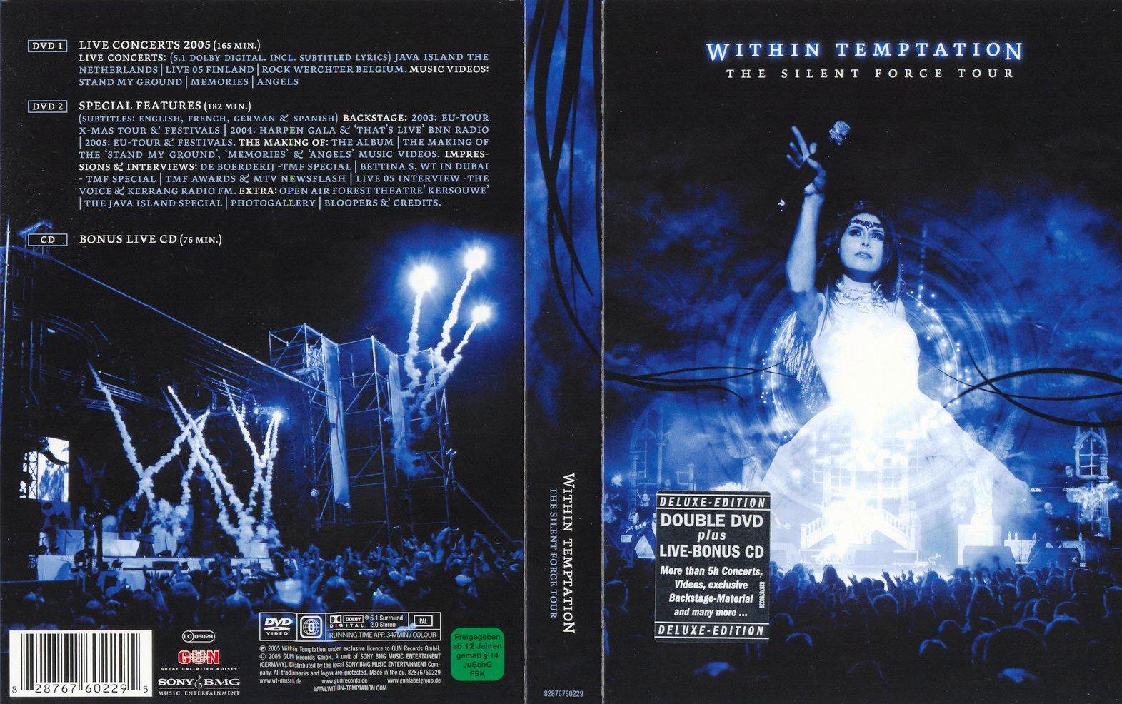 Within temptation the heart of everything (bonus dvd-5) (2007.