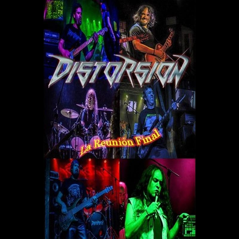 Distorsion La Reunion Final Live Album 2016 Thrash